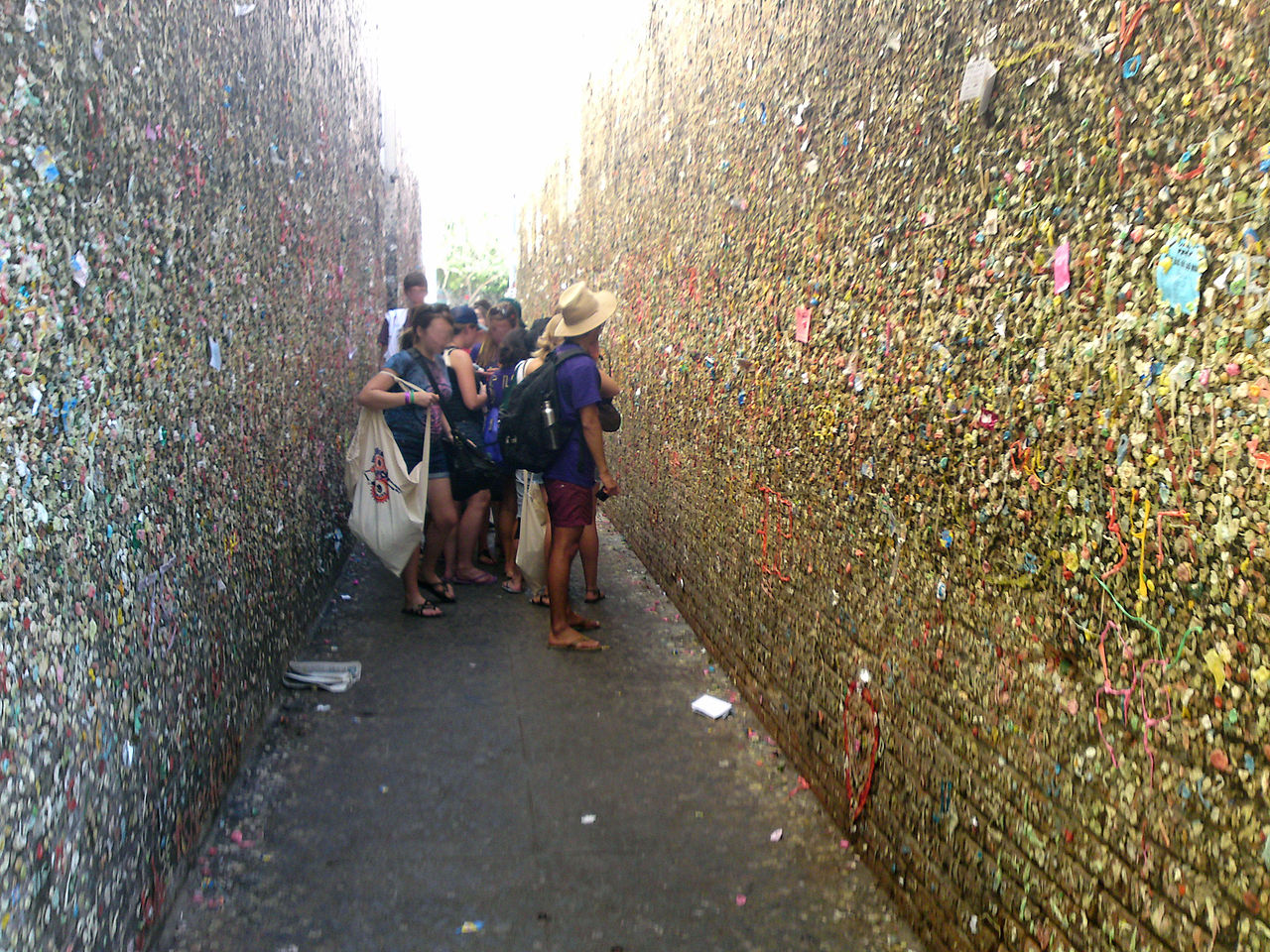 Bubble-gum Alley an Unusual Thing to See in San Luis Obispo, CA